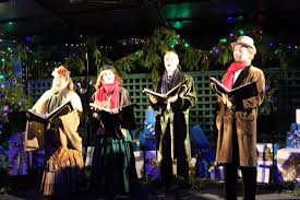 christmas carolers christmas carolers delight us with christmas carols picture of
