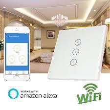 alexa light switch dimmer weton wifi smart wall light switch with amazon alexa no hub required
