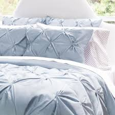 Bedroom Ideas With Blue Comforter The Valencia French Blue Pintuck Bedding Decor French Blue And