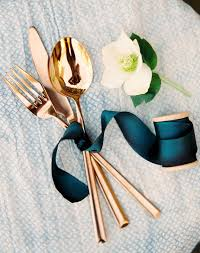 wedding silverware silverware bouquets the new tabletop wedding trend purewow