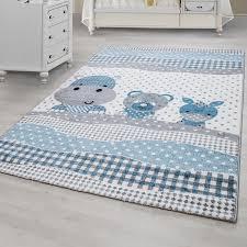 tapis pour chambre bébé tapis pour chambre enfants blue gris