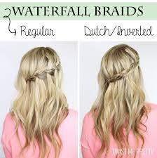 tutorial rambut waterfall de 8 bästa hair bilderna på pinterest