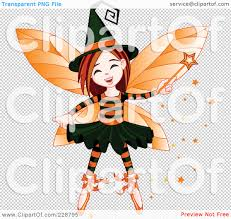 royalty free rf clipart illustration of a halloween witch fairy