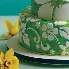wedding cake hawaii tropical hawaiian theme cake designs