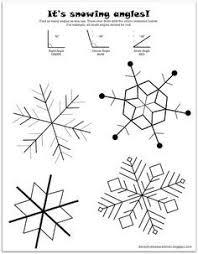 snowflake symmetry drawing worksheet snowflake bentley