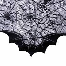 aliexpress com buy halloween lace fireplace mantle cover 50