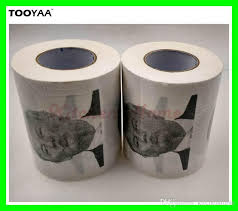 Toilet Paper Funny 2017 Funny Toilet Paper With Donald Trump Photo Printing 3
