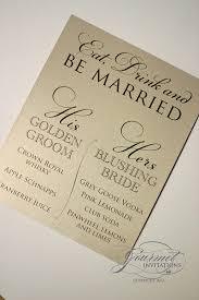 Custom Wedding Programs Agatha U0027s Wedding Reception Gourmet Invitations