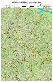 Map Of Canaan West Virginia Dnr Wma Map Project