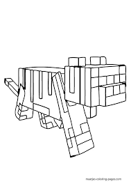 19 minecraft coloring pages images colouring