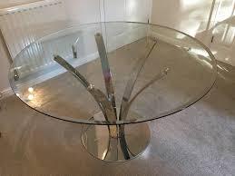 Coffee Tables John Lewis by John Lewis Glass Circular Moritz Dining Table In Ruddington