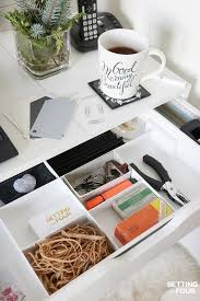 Organizing Desk Drawers 5 Easy Organization Ideas To Create The Chicest Desk