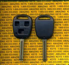 lexus rx300 key programming instructions 2005 05 lexus ls400 ls 400 keyless remote replacement case shell