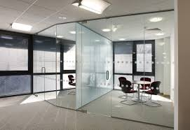 Office Partition Curtains Frame Glass Office Partitions Glass Office Partitions Ideas
