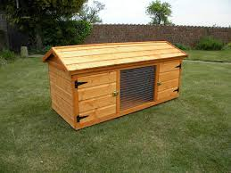 Rabbit Hutch With Detachable Run British Giant Hutch 5ft Wooden English Giant Rabbit Hutch