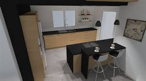 plan de cuisine en bois ilot cuisine bois massif 3 cuisine plan de travail en lot de