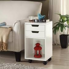 Home Decorators Desk by Home Decorators Collection Mobile Storage Cart 2 Drawer And Cubby