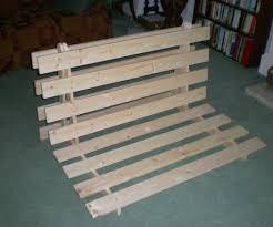 solid wood futon frame wood futon frames hardwood chair beds the wooden slat frame twin