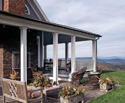 porch columns ideas exterior traditional with cedar columns