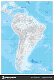 South America Map Physical by Physical Map Of South America Ezilon Maps South America Physical