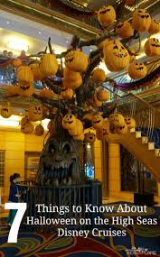 travel tips halloween on the high seas with disney cruise line