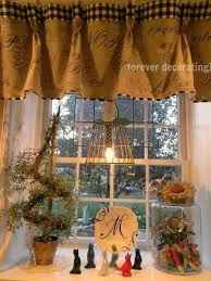 country kitchen curtain ideas magnificent burlap country curtains decor with best 25 country