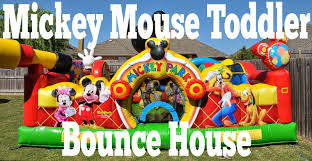 bounce house rentals houston mickey mouse toddler bounce house happy party rentals miami