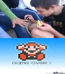 Game Over Meme - friend zone game over by joseph mcelrath meme center