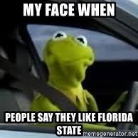 Kermit Meme My Face When - kermit the frog in car meme generator