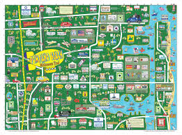 Florida Map Of Beaches by Pompano Beach Florida Map Adriftskateshop