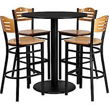 High Table Chairs Pub Kitchen Table Sets Captainwalt Com