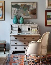 adorable desks for living rooms using antique white desk with
