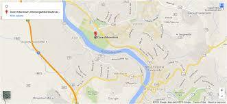 wvu evansdale map home arboretum virginia