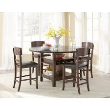 set dining room table attractive set dining room table dark walnut 5 piece counter