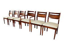 Midcentury Modern Dining Chairs - walnut mid century modern dining chairs antiques ebay
