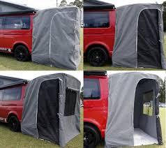 Van Rear Door Awning Rear Tent Campers Pinterest Tents
