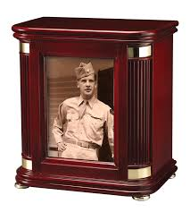creamation urns rosewood picture frame cremation urn chest