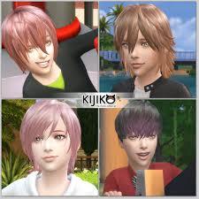 childs hairstyles sims 4 kijiko hair for kids vol 1 kijiko