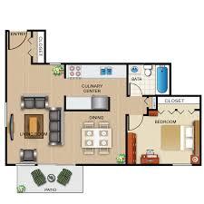 1 Bed 1 Bath Apartment Lansing West Apartments E Brochure