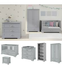 Nursery Furniture Set White Chic Inspiration Grey Baby Furniture Sets Gray My Apartment Story