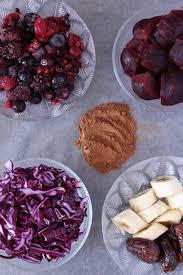 veggie red velvet smoothie
