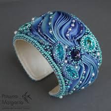 shibori ribbon bracelet magic bracelet with shibori ribbon bead