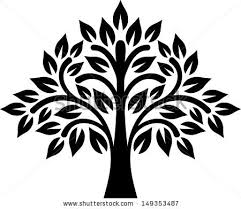 graphic tree stock vector 149353487