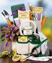 garden gift basket burt s bees s day gardening kit spa gift baskets a