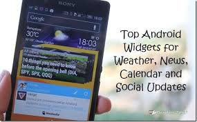 hootsuite for android top 6 android widgets to kick start your day