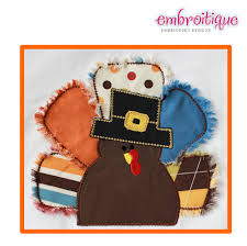 applique turkey thanksgiving applique satin and