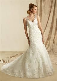 wedding dress sheer straps a line v neck sheer straps lace beaded wedding dress with buttons