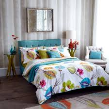 refresh your bedroom with colorful bedding and pillows interior