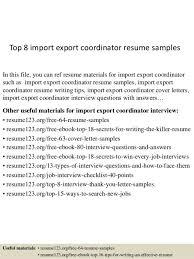 after program coordinator resume coordinator resume