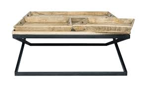 swazi coffee table with tray mango wood koala u0026 tree